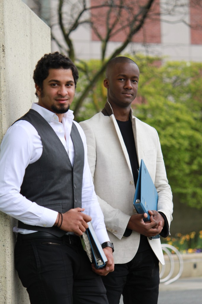 Tariq and Ryan, University Pathway Students