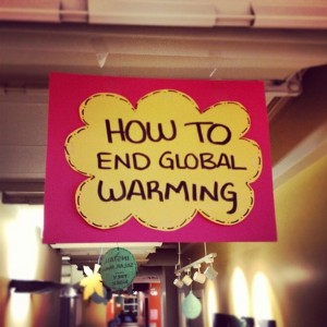 How to End Global Warming - Earth Month ILSC-Montreal