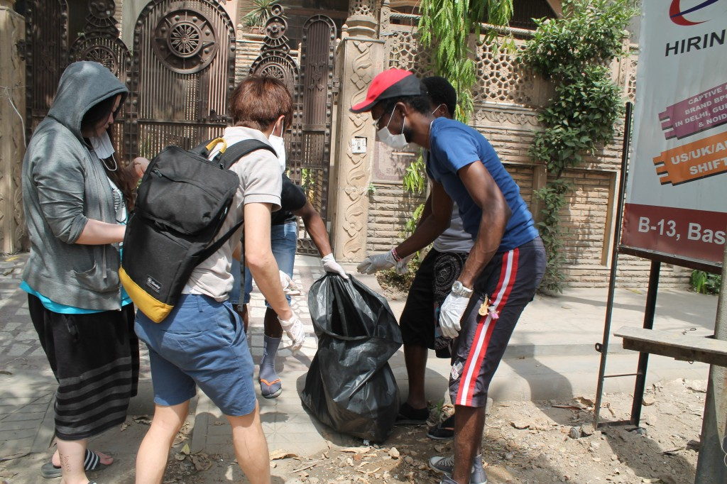 Cleaning up the ILSC neighbourhood