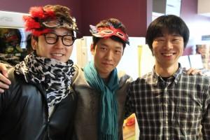 Scott (far left) at ABM Tea event