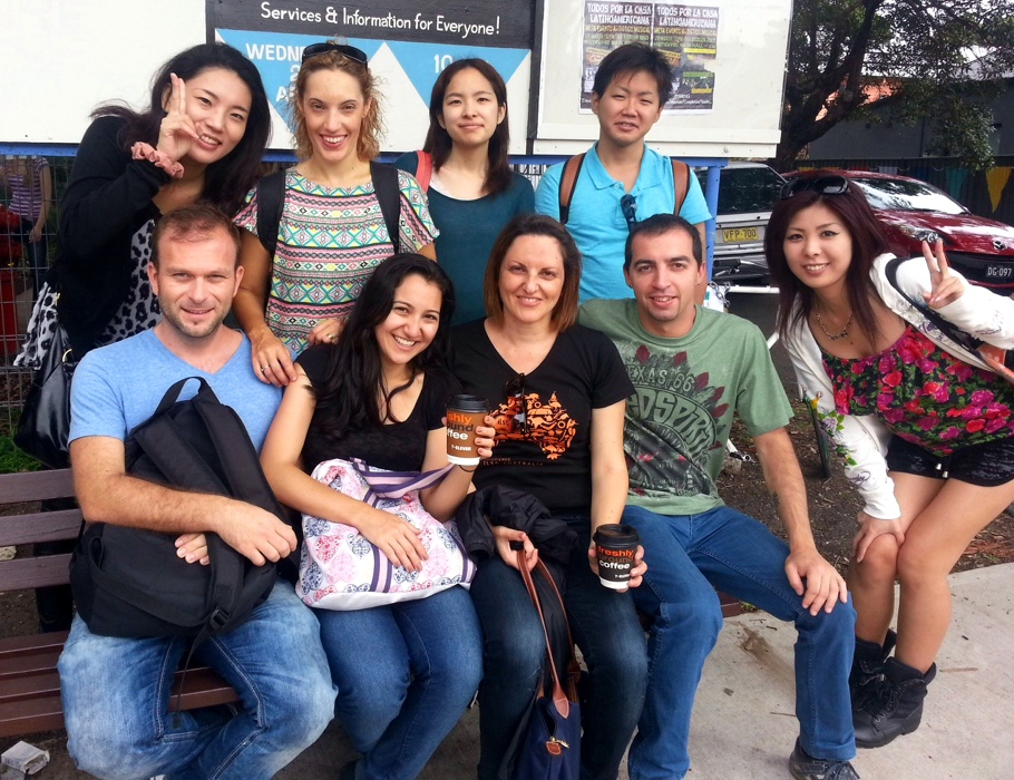 The ILSC Group at Marrickville Market