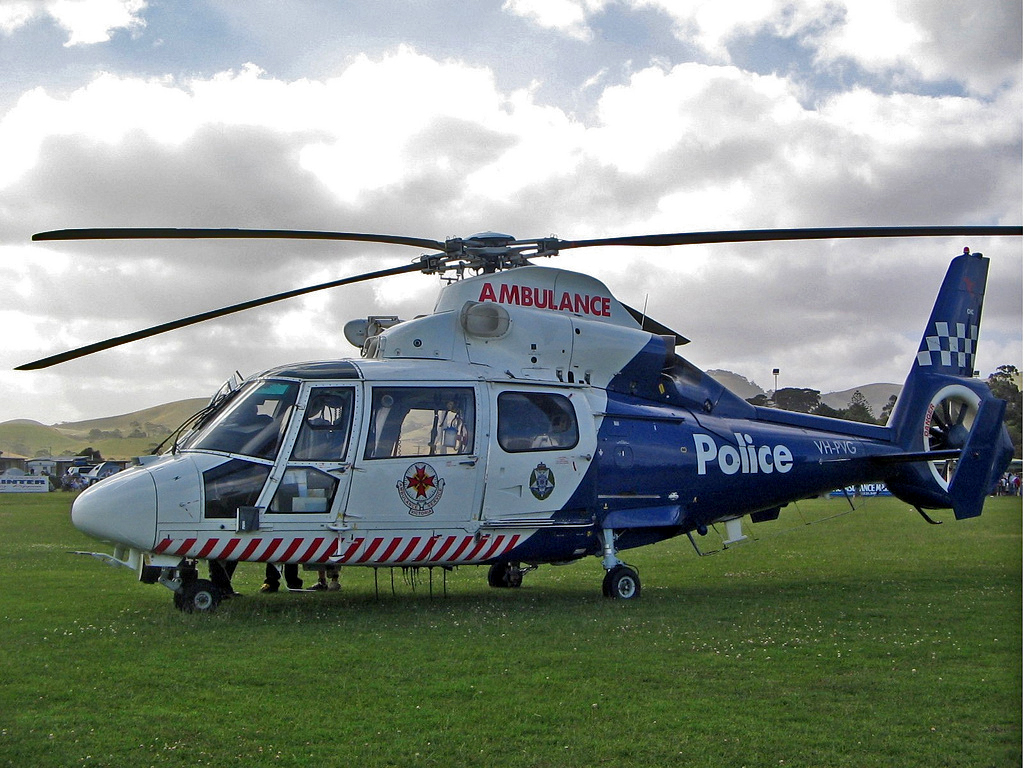 Rescue Helicopters can save your life, but they don't come cheap! Photo credit: Flickr user, Highway Patrol Images