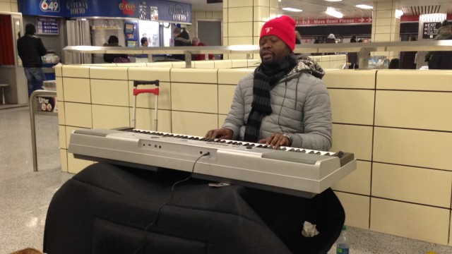 Jaffa Charles, Keyboard Player in Toronto Subway