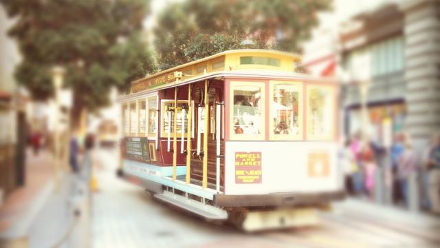 The unique cable car (Photo credit: Arthur Fond)