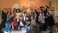 ILSC Marketing Staff Celebrate the Star Chain School Award Win