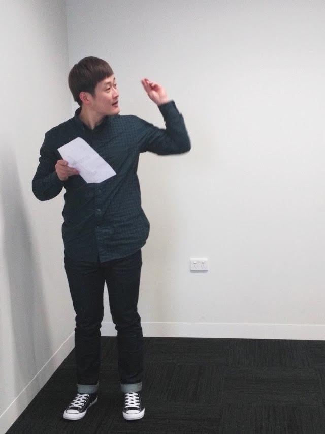 An ILSC-Melbourne student