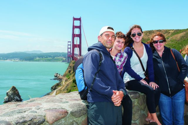 Explore San Francisco's beauty with your family