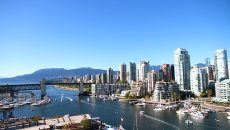 Vancouver's beautiful False Creek