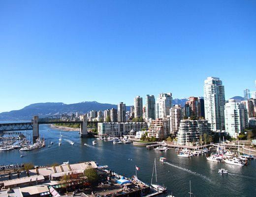 Vancouver's beautiful False Creek